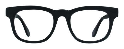Churchill black eyeglass frames