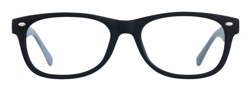 Hardin black and grey eyeglass frame
