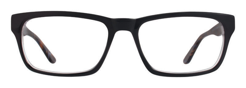Brice black and navy eyeglass frames