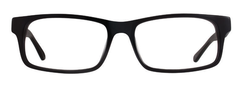 Carter black eyeglass frames