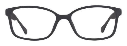 Crawley black matte eyeglass frames