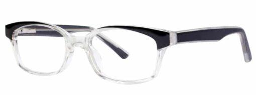 Calabash black and crystal eyeglass frames