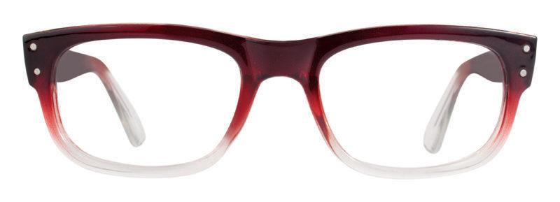 Davis burgundy fade eyeglass frames