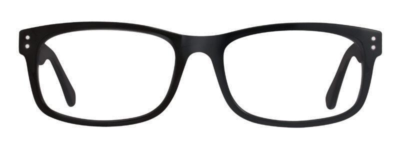 Echo black eyeglass frames