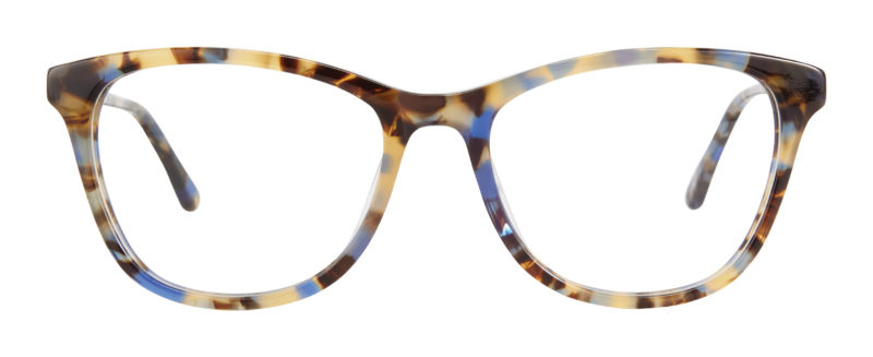 Magnolia blue tortoise eyeglass frames
