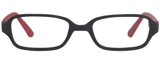 Hanson black and brick matte eyeglass frames