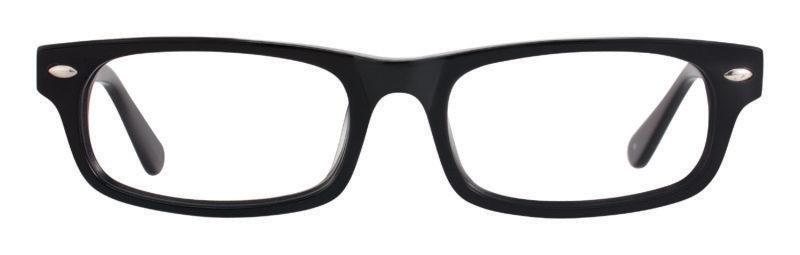 Joplin black eyeglass frames