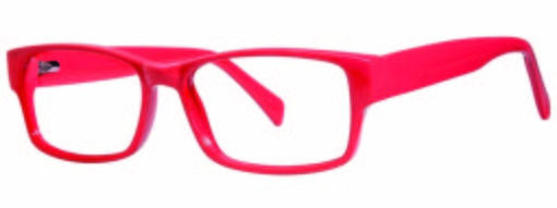 Lindley red eyeglass frames