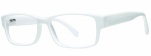 Lindley white eyeglass frames