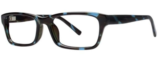 Cades teal and tortoise eyeglass frames
