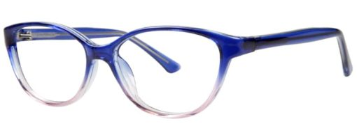 Earth navy blue fade eyeglass frames