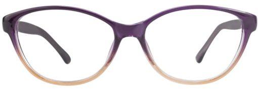 Earth purple fade eyeglass frames
