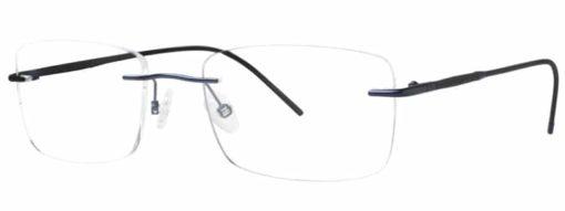 Redford blue and black eyeglass frames