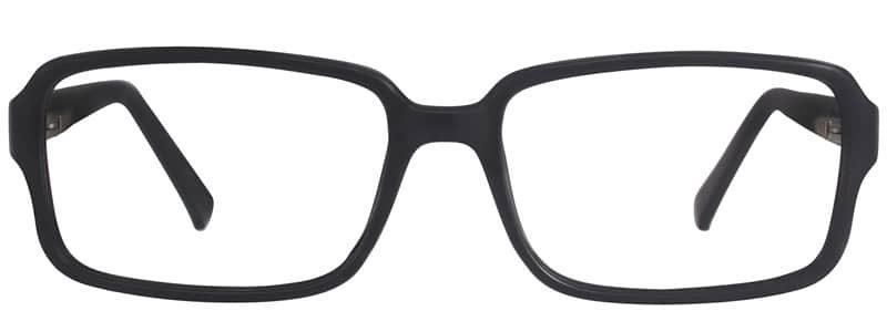 Jessie black matte eyeglass frames