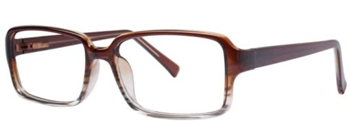 Jessie brown fade eyeglass frames from side