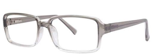 Jessie grey fade eyeglass frames from side