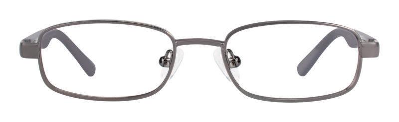 Star gunmetal eyeglass frames