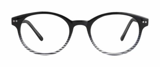 Matheny black eyeglass frames