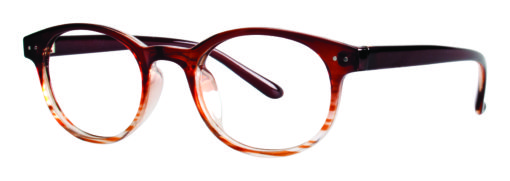 Matheny brown eyeglass frames