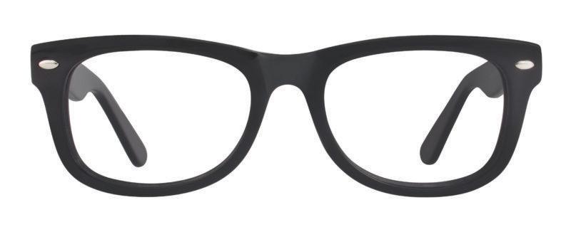 Wellman black eyeglass frames