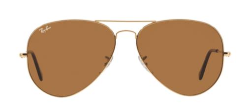 Ray-Ban brown aviator