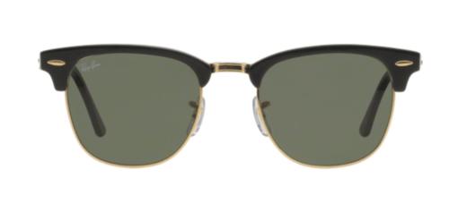 Ray-Ban Clubmaster ebony eyeglass frames