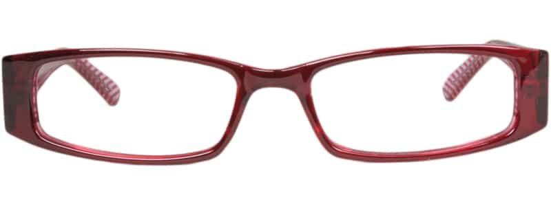 Salem burgundy eyeglass frames