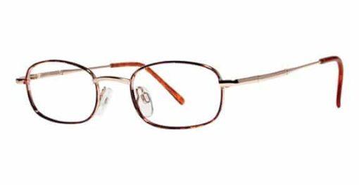 Catalina demi amber eyeglass frames