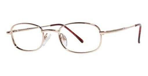 Cayenne gold eyeglass frames