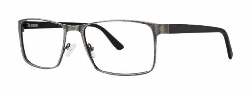 Allerton black and pewter eyeglass frames