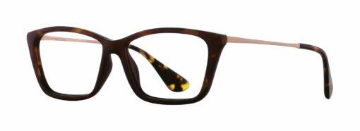 Pratt tortoise eyeglass frames from side