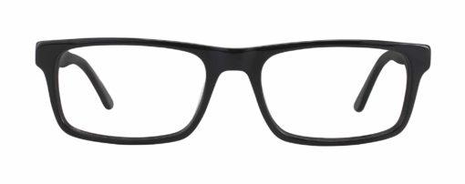 Jonestown black eyeglass frames
