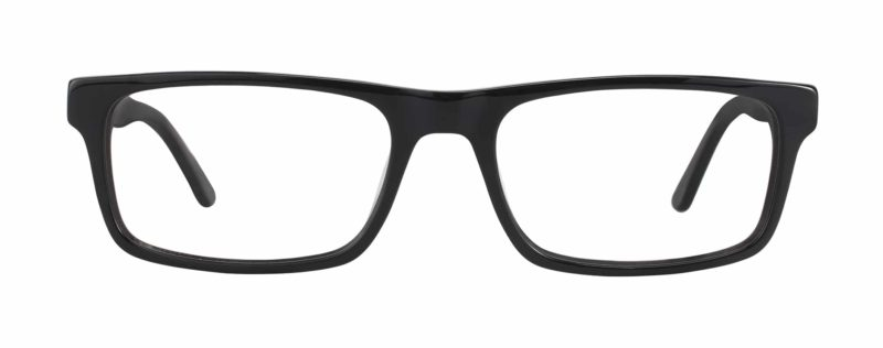 Jonestown black eyeglass frames