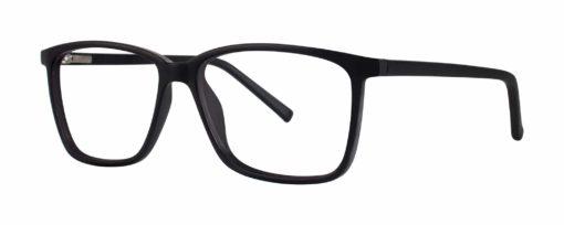 Jenks black matte eyeglass frames