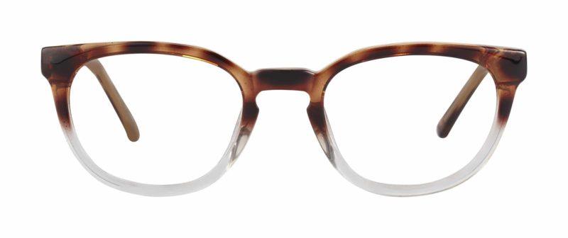 Munford tortoise and crystal eyeglass frames