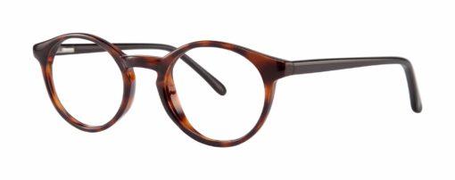 Fate tortoise eyeglass frames from side