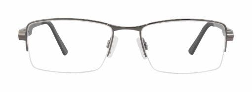 Wisner gunmetal eyeglass frames