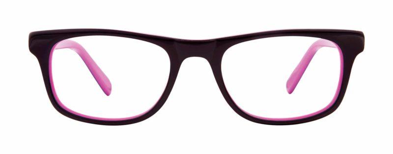 Baden purple and lilac eyeglass frames