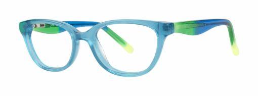 Farley teal eyeglass frames