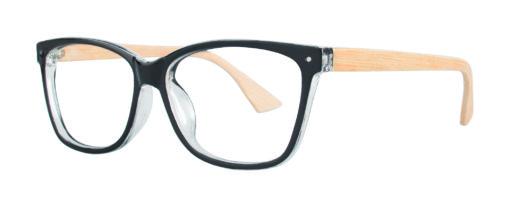 Andes black eyeglass frames