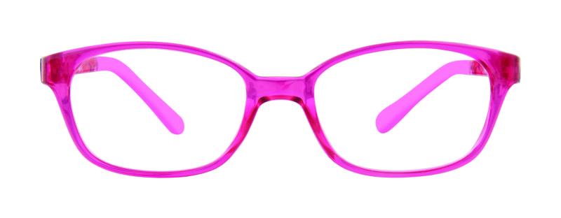 Izzy fuchsia eyeglass frames