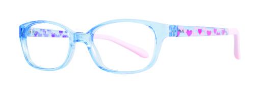Izzy blue eyeglass frames