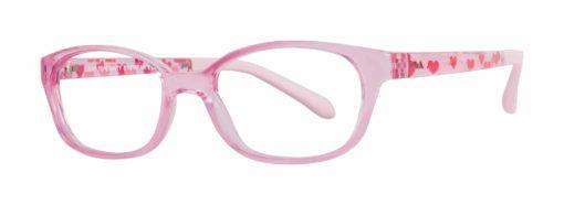 Izzy pink eyeglass frames