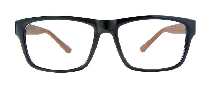 Jenkins black eyeglass frames