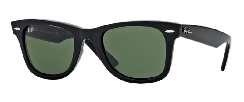 Ray-Ban: Wayfarer black eyeglass frames