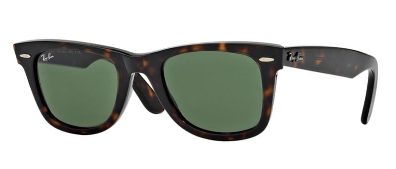 Ray-Ban: Wayfarer tortoise eyeglass frames