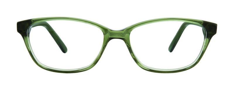 Jena green eyeglass frames