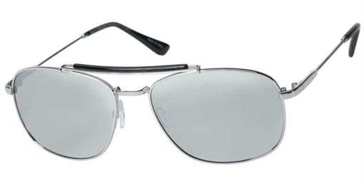 Harlan silver eyeglass frames