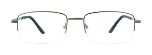Altona gunmetal eyeglass frames