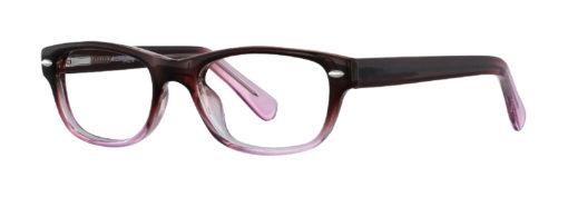 Oklee brown rose eyeglass frames